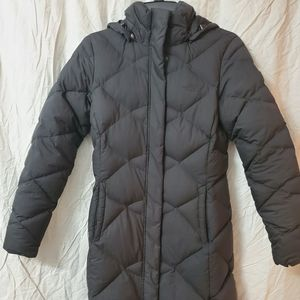 NORTH FACE DOWN FILLED LONG PUFFER COAT